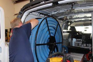 Water Damage Professional Unloading Equipment