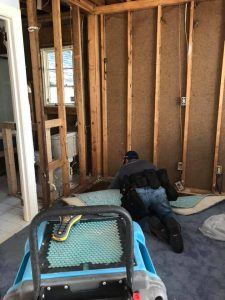Wall Repairs After A Pipe Burst