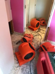 Drying Out A Home After A Pipe Burst