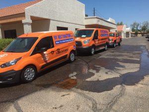 Water Damage Restoration Team at 911 Restoration Headquarters